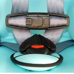 Wholesale Baby Car Seat Safety Straps - Interior Accessories Seat Belts Padding Free Shipping Car Baby Safety Seat Strap Belt Harness Chest Child Clip Safe Buckle