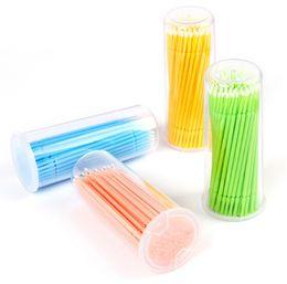 Wholesale Extension Brushes - Disposable Eyelash BrushDisposable Swab Micro Brushes Individual Eyelash Extension Tool Lash Glue Remove Tools 10000PCS LOT