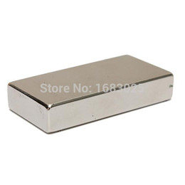 Wholesale Neodymium Magnets 25 - Neodymium Block Magnet 50 X 25 X 10mm N52 Very Powerful NEO Magnets DIY MRO Cuboid Magnet Block Rare Earth