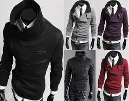 Wholesale Korea Monde Shirt - 2015 New HOT Monde South Korea zipper Hoodie Rider Men's Jacket Men's Coat Sweat Shirt mens coat 5 colours