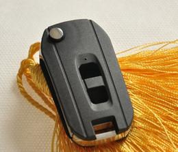 2 Düğmeler Modifiye Çevirme Araba Anahtarı Kabuk için Chevrolet Captiva Durumda Kapak nereden kabuk spor otomobil tedarikçiler