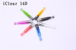Wholesale Iclear 16 Replaceable - iClear 16D Bottom heat Dual Coil Atomizer innokin Itaste iclear16D BDC Clearomizer dhl