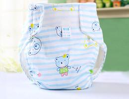 Wholesale Toddler Waterproof Underwear - Wholesale-3pcs lot baby training pants waterproof toddler underwear underpants newborn diaper pants free shipping