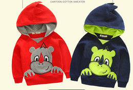 Wholesale Baby Jacket Outerwear Boy - 2015 Autumn Winter Children Outerwear & coats Cartoon Jackets Baby Kids Long Sleeve Hoodies Girls boys Clothing 5p l