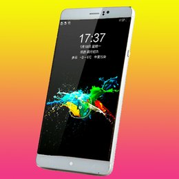 Wholesale Best Video Phones - Best 6 inch phone MTK6580 quad core 4800MA battery Android 5.1 Dual SIM card 3G WCDMA Unlocked Smartphone Mobile phone free shipping
