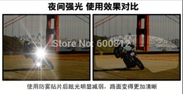 Wholesale Sol Helmets - Wholesale-Exclusive first Permanent anti-fog lens glare of high-end helmets foil patch for agv arai sol sbk hjc helmets visor