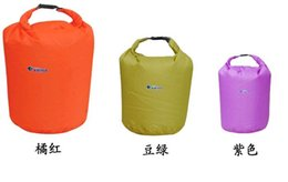 Wholesale Kayaks Wholesale - Best price 20L Water Resistant Waterproof Dry Bag for Canoe Kayak Rafting Camping drifting 20pcs Free shipping