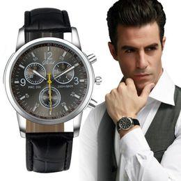 "Wholesale Men S Sport Clock - Reloj clock relojes mujer 2015 Brand New Luxury Fashion PU Leather Watches Men""s Analog Watch relogios masculinos Montre Femme"