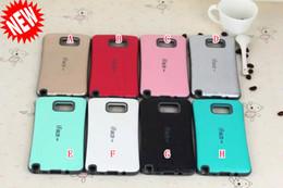 Wholesale Galaxy Note Case Korea - Korea IFACE Soap Diamond Soft TPU PC Case Square For Samsung Galaxy J1 Note 5 2 3 4 S6 EDGE PLUS J5 A5 Grand Prime G530 Core G360 skin Cover