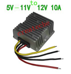 Wholesale Universal Booster - DC DC power converter DC-DC 5V-11V to 12V booster 5V6V7V8V9V10V11V to 12V 10A DC-DC 5-11V step-up to 12V 10A 120w