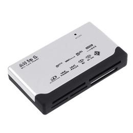 Argentina Universal USB 2.0 ALL IN 1 Multi CARD READER Tarjeta de memoria Secure Digital / XD / MMC / MS / CF / SDHC alta compatibilidad al por mayor / al por menor Suministro
