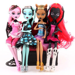 Wholesale High School Toys - home decora Monster High Dolls Elf Monster High School Girls Dolls HOTSale Dolls Good Quality Little Girls Toys Birthday Gifts Children's C