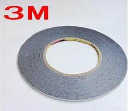 Wholesale 3m 2mm Double Sided Tape - Touch Display Screen Panel Mobilephone LCD Repair Double Sided Adhesive 3M Black 9448 Tape 1mm 2mm 3mm 4mm 5mm width 5pcs lot