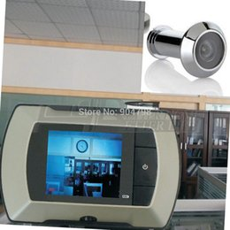 Wholesale Door Peep - 1pcs 2.4 LCD Visual Monitor Door Peephole Peep Hole Wireless Viewer Camera Video YKS