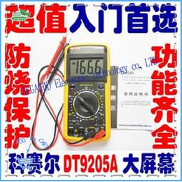 Wholesale Large Screen Multimeter - 1 Free shipping Corsaire DT9205A folding large screen digital multimeter 0.35KG 100% Original Product