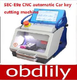 Wholesale Auto Key Cutting - 2017 Original Auto Locksmith Tool SEC-E9z CNC automatic key cutting machine Multi Language Portugues Italian Russian version