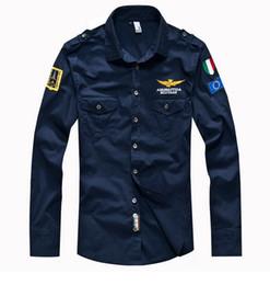 Wholesale Wool Shirts For Men - new shirts for men hot men's long sleeve cotton shirts casual slim fit brand shirt camisas dress shirts men