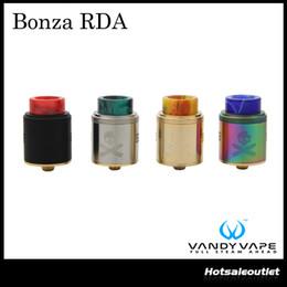 Wholesale Fixing Screws - Authentic Vandyvape Bonza RDA Atomizer with Fixed Screw Clamp Post Bonza RDA with Single & Dual Coil Configuration 100% Original