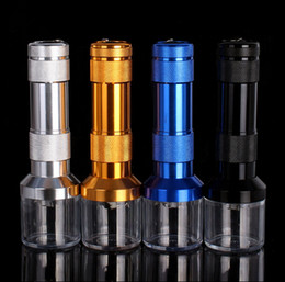 Wholesale Popular Electric - The big size good cigar smoking pipe accessories popular aluminum leaf electric grinder mill smoke spice crusher muller