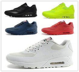 Wholesale Online Fashion - Men and Women Air 90 HYP PRM QS Running Shoes Sale Online Fashion Independence Day Zapatillas USA Flag Sport Sneakers