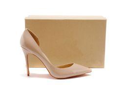 Wholesale shoe inside - [Original Box]hot sale Luxury Women red sole High-heeled shoes,Wedding shoes Heel height : 8cm&10cm&12cm INSIDE EDGE SHOES EMPTY