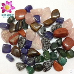 Wholesale Crystal Mineral Wholesalers - 1 2lb (228g) Bulk wholesale Assorted mixed gemstone rock and minerals Tumbled stone beads for crystal Chakra healing #DOI