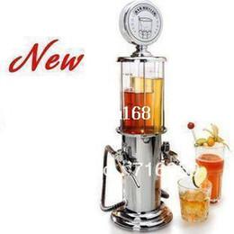 Wholesale Drank Dispenser - FREE SHIPPING double gun barware mini beer pourer water liquid drink dispenser wine pump dispenser machine