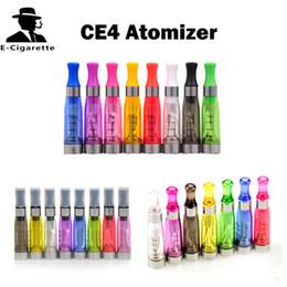 Batteries rs en Ligne-EGO CE4 Atomizer 1.6ml Cigarette Électronique Cartomizer Mix Couleurs Match r 510 eGo Batterie VS CE4 + CE5 CE6