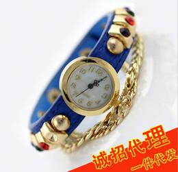Wholesale Korea Ladies Watch - 2015 Korea new fashion bracelet watch ladies watches wholesale trade