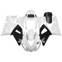 Wholesale For yamaha fairing YZF R1 ABS plastic injection motorcycle fairing kit body skin white black