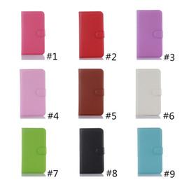 Wholesale D3 Case - Litch Pattern Leather Case for Alcatel C3 C5 C7 C9 Cash Slot Pocket Alcatel Pop D1 D3 D5 With Stand Wallet Free Shipping
