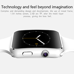 Wholesale Iphone Rating - 2017 New Bluetooth Smart Watch X6 Smartwatch For iPhone Android support SIM Card relogio inteligente reloj smartphone watch