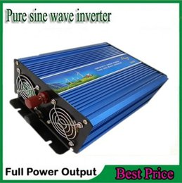Wholesale Grid Tied Solar System - Off Grid Tie Inverter 2000W pure sine wave inverter DC 12V 24V 12v to AC 230V 220V For wind or solar systems peak power 4000Watt