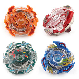 Wholesale Beyblade Fusion - 4 Stlyes New Spinning Top Beyblade BURST 3056 With Launcher And Original Box Metal Plastic Fusion 4D Gift Toys For Children
