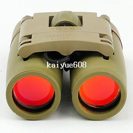 Wholesale Military Cans - Sakura LLL Night vision 30 x 60 Optical Zoom military Telescope Binoculars (126m-1000m ) Green Camouflage 100%NEW - Can OEM