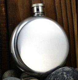 botella de onzas Rebajas 5 oz ruso de acero inoxidable bolsillo frasco de la cadera Whiskey botella de vino frasco de vidrio portátil para viajes al por menor al por menor de envases de 5 onzas Onzas