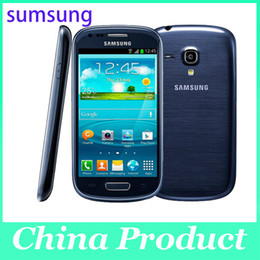 Wholesale S3 Cell Phone - Refurbished Original Samsung I8190 Galaxy SIII 480 x 800 Mobile Phone Galaxy S3 Mini Cell Phone Dual-core 1500 mAh Android Phone 002868
