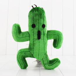 Deutschland 1 Stücke Final Fantasy Cactus Cactuar Plüschtier Grüne Pflanze Gefüllte Weiche Puppen Mit Tag Weihnachtsgeschenk 24 cm Ca. Versorgung
