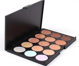 Wholesale Makeup Sell Professional - Newest Selling Professional 15 color concealer camouflage brand new makeup palette 15 color high quality with free shipping DHL