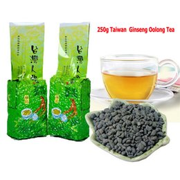 Wholesale Chinese Mountains - 250g Taiwan Ginseng Oolong Tea, Chinese Famous Health Care Ginseng Tea, Slimming tea, Taiwan High Mountain Wulong Tea