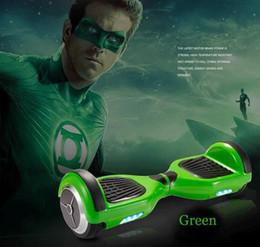 Canada Mode Nouvelle arrivée Deux roues Smart Self équilibrage Monocycle Scooters Dérive Conseil Électrique Avec LED (Vert) Offre