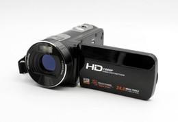 Wholesale Home Video Digital Camera - 2015 New HD 1080P Camcorders 3.0 inches LCD Digital Video Camera & 16X Digital Zoom & 5MP CMOS Sensor & Max 24 mega pixels