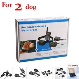 Wholesale Black Dog Training - Waterproof Rechargeable 100 Level Pet Dog Training Collar 300meters Remote Electric Shock Vibra Control With LCD Display