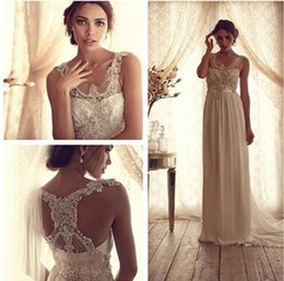 dreamlike wedding dress prices - 2016 Dreamlike Wedding Dress Scoop Ivory White Appliques Beads Bridal Gowns wedding party dresses custom made