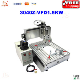Wholesale Desktop Drill Machine - Free ship!desktop milling machine for metal 3040Z-VFD1.5KW with 1.5KW VDF,marble gravestones drilling machine,3d wood cutter