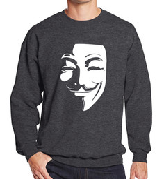 Wholesale Vendetta Clothing - Wholesale- V for Vendetta men's sportswear 2017 spring winter fleece hoodies men sweatshirt hip hop streetwear brand-clothing tracksuits