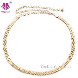 Wholesale Metal Belly Dance Belt - Hot Sale Belly Dance Metal Ladies Gold Chain Belt Cinto Feminino Cinturones Belts For Women Accessories(BL-454) YouKee Belt