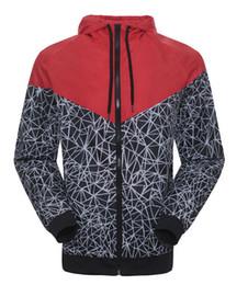 Wholesale New Men Fashion Jackets - Spring And Fall new men's sports jacket hooded jacket Men casual Fashion Thin Windbreaker Zipper Coats Free Shipping