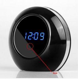 Wholesale Table Alarm Clock Spy Camera - Hot Selling Desk Table Alarm Clock Hidden Spy Camera Motion Detection DVR with Remote Control