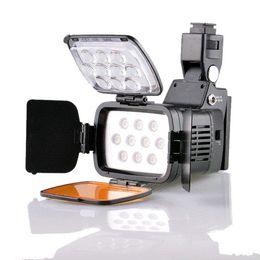 Wholesale Expandable Tube - DSTE VL001A Professional 10-LED Video Light Camera Camcorder DV DSLR Dimmable Expandable Lamp 5500K 3200K camera cabinet